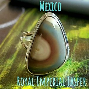 Mexican Royal Imperial Ring Sterling